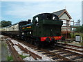 SX8061 : Totnes - South Devon Railway by Chris Allen