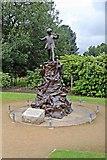 SJ3787 : Peter Pan Statue, Sefton Park, Liverpool by El Pollock