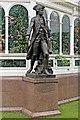 SJ3787 : Captain Cook Statue, Sefton Park, Liverpool by El Pollock