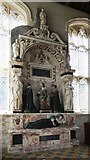 TL3852 : Assumption of the Blessed Virgin Mary, Harlton - Monument by John Salmon