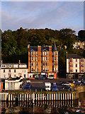 NS0964 : Harbourside Properties, Rothesay by James T M Towill