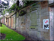NS3321 : The Auld Kirk of Ayr graveyard by Thomas Nugent