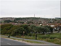 TQ3303 : Brighton view, with radio mast by Keith Edkins