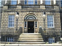 NT2473 : Entrance to Bute House, Charlotte Square by kim traynor