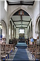 SK9227 : Interior, Ss Andrew & Mary's church, Stoke Rochford by J.Hannan-Briggs