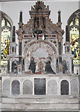 SK9227 : Memorial to Cholmely Family, Stoke Rochford church by J.Hannan-Briggs