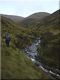 NN6676 : Heading towards the Allt Fraoch Choire by Karl and Ali