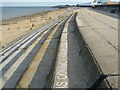 TQ9275 : Reference to the SS Richard Montgomery on Sheerness seafront by Marathon