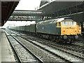 SJ8399 : Railway Station, Manchester by Dave Hitchborne