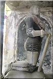 SK9227 : Son of Henry and Elizabeth Cholmely, memorial, Stoke Rochford church by J.Hannan-Briggs