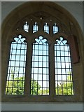 ST6601 : St Mary, Cerne Abbas: window by Basher Eyre