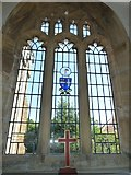 ST6601 : St Mary, Cerne Abbas: stained glass window (d) by Basher Eyre