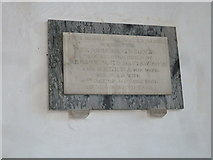 ST6601 : St Mary, Cerne Abbas: memorial (6) by Basher Eyre
