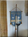 ST6601 : St Mary, Cerne Abbas: banner by Basher Eyre