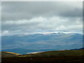 NN9599 : September snow on the high Cairngorms by Karl and Ali