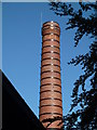 SO8354 : Chimney - Joy Mining Machinery, St John's, Worcester by Chris Allen