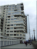TQ3180 : Brutalist architecture on the South Bank by Thomas Nugent