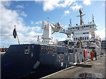 NT2677 : Coastal Edinburgh : NLV Pharos at the Port Of Leith by Richard West