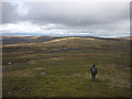 NN5699 : On the northern flanks of Geal Charn by Karl and Ali