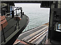 TG2142 : Lifeboat Station slipway by Pauline E