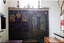 ST0642 : St Decuman's church, Watchet - monuments to John Wyndham by Mike Searle