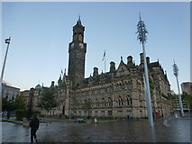 SE1632 : Bradford: City Hall by Chris Downer