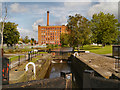 SJ8599 : Rochdale Canal, Lock#80 (Coalpit Lower) by David Dixon