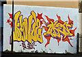 J3474 : Mural, Corporation Street, Belfast (2) by Albert Bridge