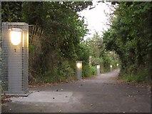 SX9066 : Bridleway from Browns Bridge Road by Derek Harper