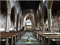 SK3871 : Interior of St. Mary and All Saints church, Chesterfield by Derek Voller
