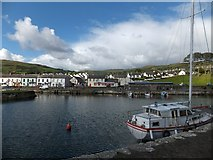 D2818 : Carnlough harbour by David Smith