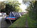 SP4877 : Working Narrow Boat Hadar moored near Fall's Bridge by Keith Lodge
