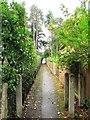 SU9566 : Footpath between Priory Road and Ridgemount Road by Mike Quinn