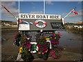 SY4690 : River Boat Hire, West Bay by Derek Harper