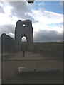 NY5415 : The tower of Shap Abbey by Karl and Ali