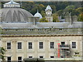 SK0573 : Buxton Crescent; restoration by Peter Barr