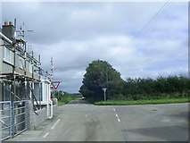 SM9610 : Crossroads at Trooper's Inn by Martyn Harries