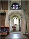 TL7835 : Inside Hedingham Castle by PAUL FARMER