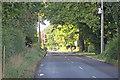 SJ7374 : Plumley Moor Road looking west by Peter Turner