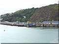 SM9538 : Quayside, Fishguard Harbour by Oliver Dixon