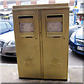 TL3502 : Laura Trott's Gold Post Box by Oast House Archive