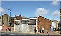 SO9198 : Dereliction and Cleveland Passage, Wolverhampton by Roger  Kidd