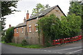 SY4894 : House at junction of Higher Street and Village Street by Roger Templeman