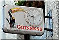 "J3374 : ""Guinness"" clock, Belfast by Albert Bridge"