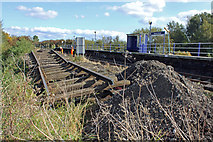 TA0623 : Old Track at Barrow Haven Station by David Wright