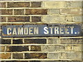 TQ7656 : Old sign for Camden Street, ME14 by Mike Quinn
