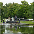 SP1491 : Minworth Middle Lock, Birmingham by Roger  Kidd