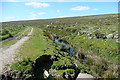 SX5863 : Leat above china clay works by Graham Horn