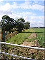 TM3481 : Footpath off Mill Road by Geographer
