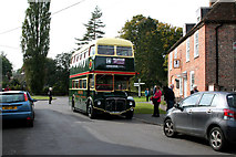 SU7037 : Chawton, Hants:  Routemaster bus by Dr Neil Clifton
